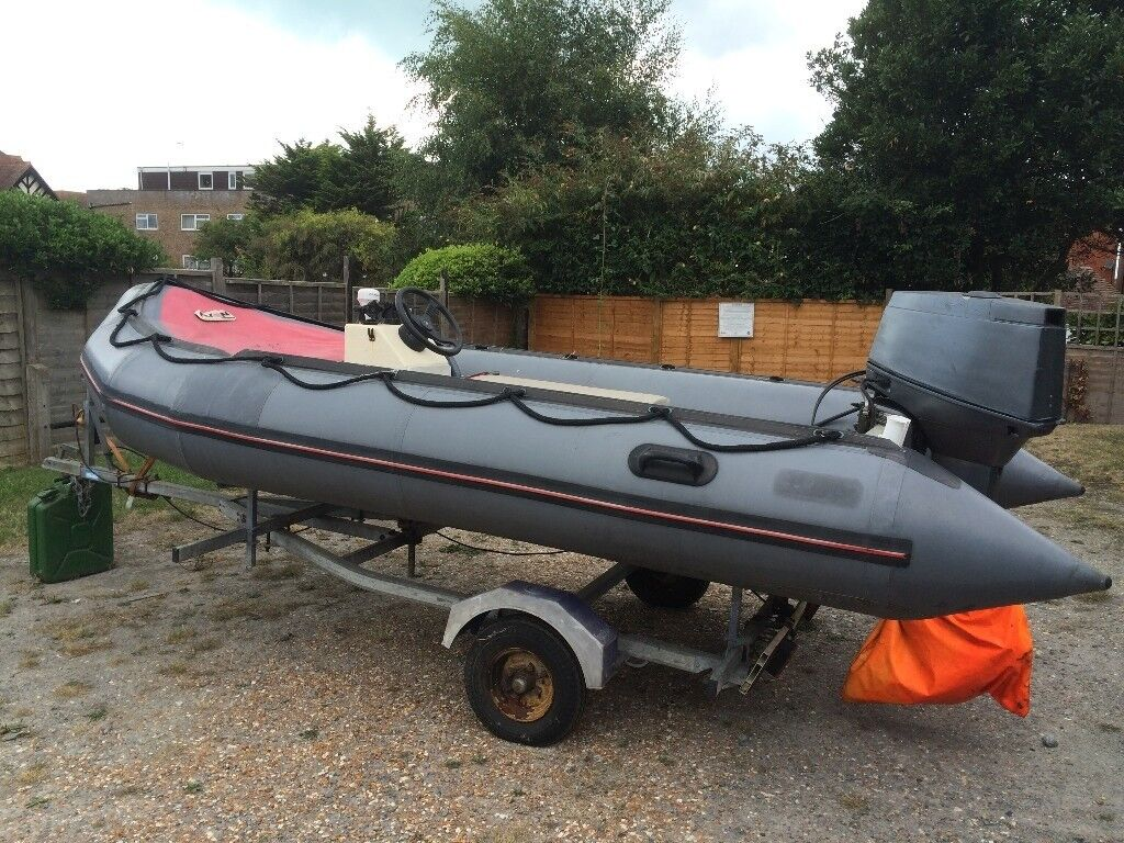 Avon Searider 4m RIB | in Bexhill-on-Sea, East Sussex | Gumtree