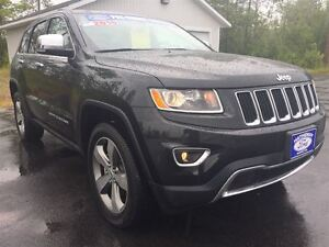 2016 Jeep Grand Cherokee Limited|NAVIGATION|LEATHER|MOONROOF|