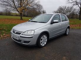 VAUXHALL CORSA 2006 1.2 with NEW MOT. Not Polo, Fiesta, 206 or Yaris.