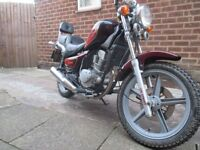 Hyosung 125 1995 low mileage great runner