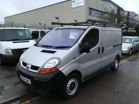 RENAULT TRAFIC 1.9 CDTI SILVER WITH VERY CLEAN BODY EXPENSIVE ROOFRACK! SUPER...