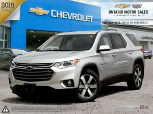 2018 Chevrolet Traverse 3LT AWD / SKYSCAPE DUAL PANEL SUNROOF...