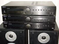 TIBO TI400 Hifi System CD Player Amplifier DAB Radio & Speakers