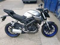 Yamaha mt 125 abs 2016