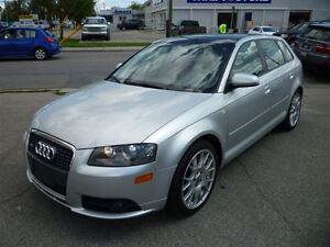 2007 Audi A3 3.2 QUATTRO/LEATHER/SUNROOF/ALLOYS