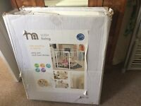 Mother are playpen/guard Used at Nannas with bottom cushion