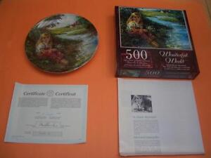 "DOMINION CHINA ""A QUIET MOMENT"" COLLECTOR PLATE BY STEWART SHERW"
