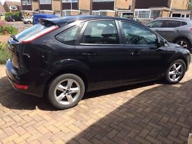 FORD FOCUS 1.8 TDCi Zetec Diesel Black 2008 - 12 Month MOT