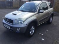 RAV4 3 door nrg turbo diesel 2ltr for sale