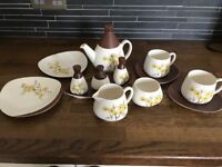 Vintage Carlton Ware Hand Painted Breakfast/ Tea Set