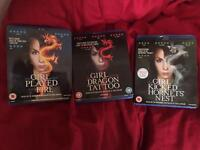 The Girl with the Dragon Tattoo Trilogy - blu ray