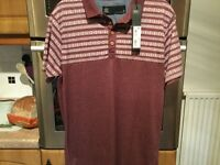 NEXT men's polo shirt size small. BRAND NEW WITH TAGS. Unneeded gift.