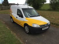 55 Vauxhall combo 1.3cdti long mot service history low tax n insurance group £1295