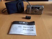 Minolta Riva Zoom 115 Camera non digital