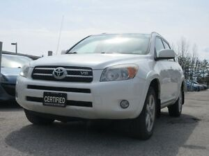 2008 Toyota RAV4 LIMITED / ACCIDENT FREE