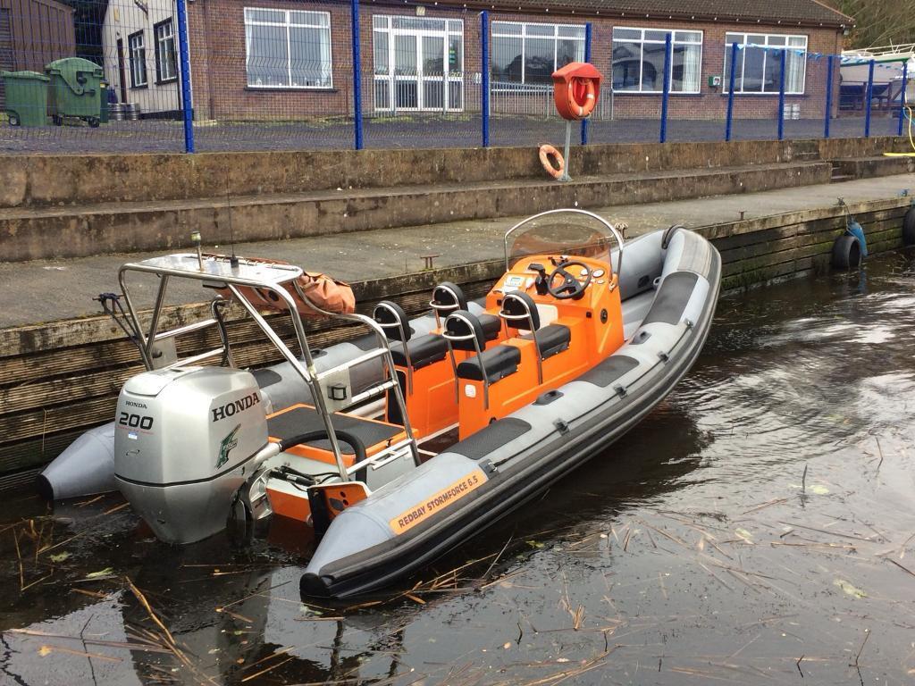 6.5 Redbay rib boat 200hp Honda outboard