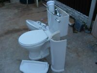 Bathroom Sink & Toilet