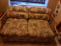 metal action sofa bed vgood condition