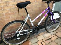 Ladies Mountain Bike - Scott Timberlake - Shimano 21 Speed. Very good condition - very little use