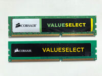 Corsair ValueSelect 8GB DDR3 RAM 2x4GB Kit - Barely used and no errors