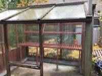 Cedar Wood Greenhouse