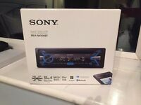 SONY USB IPOD MEX-N4100BT IN CAR STEREO