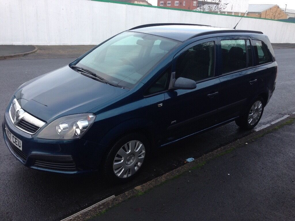 07 VAUXHALL ZAFIRA 7 SEATER 1.6 PETROL JUST HAD TIMING BELT REPLACED