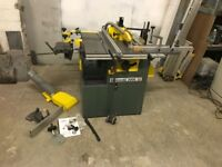 KITY Bestcombi Woodworking Machine Multifunction Saw Planer Morticer Spindle Moulder