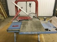 SIGMA TABLE WET TILE/SAW CUTTER