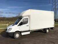 MERCEDES SPRINTER 313 CDI DIESEL 2010 10-REG 13FT 6 LUTON WITH TAIL-LIFT DRIVES EXCELLENT