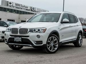 2016 BMW X3 xDrive28i One Owner Trade-in