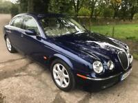 JAGUAR S-TYPE 3.0 SE V6 4d AUTO 240 BHP (blue) 2005