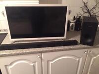 Samsung Smart TV and Soundbar