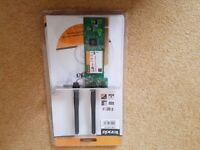 TENDA PCI WIRELESS 300 Mbps NETWORK ADAPTER - W322P New in packaing