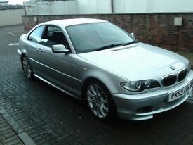 2003 53 BMW 318 2.0 Ci M Sport ** ONLY 88000 MILES ** LEATHER**