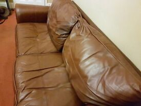 Pair of leather sofa