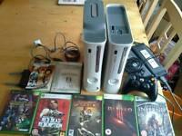 Xbox 360 x2 Bundle 7 games