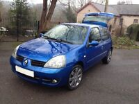 2007 CLIO CAMPUS I _ MUSIC/HI SPEC/LOW MILES/LOW INSURANCE/NEW CAMBELT/IDEAL 1ST 2ND CAR/FIESTA POLO
