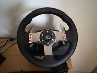 Logitech G27 Racing Wheel with Pedals