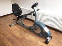 Carl Lewis EMR17 recumbent exercise bike
