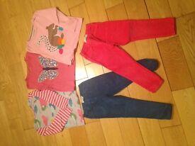 Mini Boden girls 29 piece clothes bundle (aged 2-4)