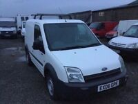 2006 FORD TRANSIT CONNECT VERY LOW MILEAGE 82000 NEW CLUTCH FITTED TODAY 1YRS MOT DRIVES LIKE NEW