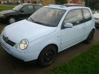 2001 imported LHD vw lupo 1.4 tdi euro style look project open air