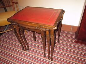 NEST OF TABLES - Beautiful and in excellent condition