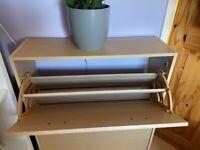 Shoe storage cupboard rack