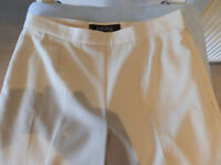 Kasper white trousers.