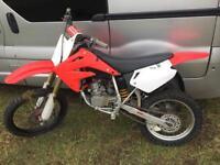 Honda CR 85 motocross bike
