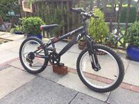 """Child's bike 20"""" wheels suit 6-7 yrs 6 gears"""