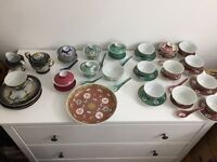 Chinese crockery from Singapore - over 50 years old
