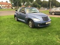 Cryserla PT cruiser convertible hpi clear mint condtion
